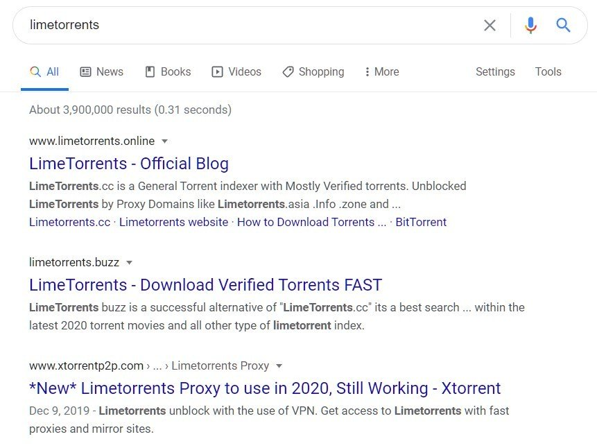 google limetorrents