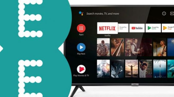 EE customers can claim a free HD TV …there is just one small catch