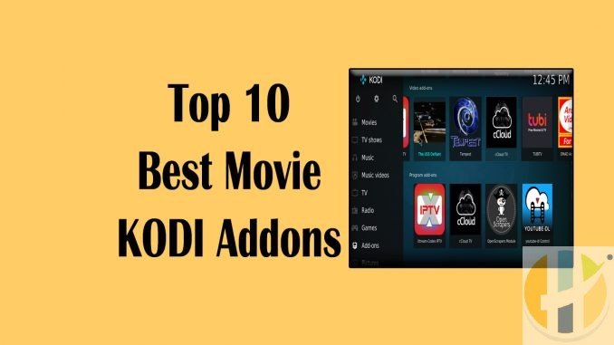 Top 10 Best Movie Kodi Addons_