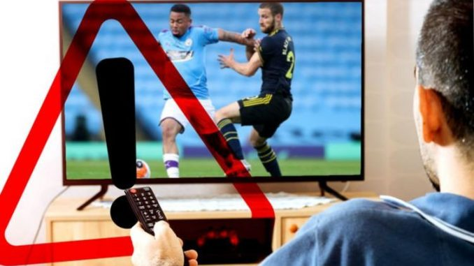 Watching free Premier League streams could land YOU in serious trouble