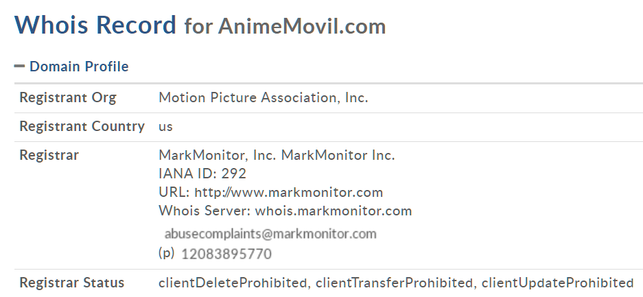 Animemovil