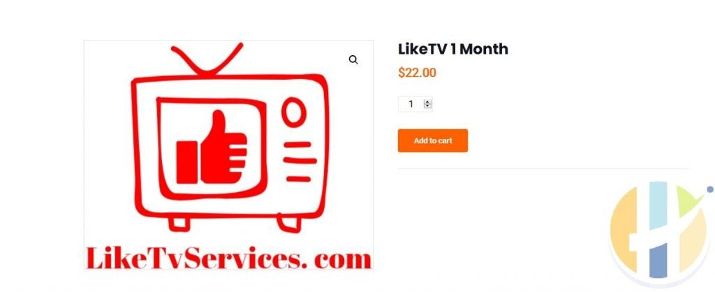 LikeTV IPTV Subscribtion