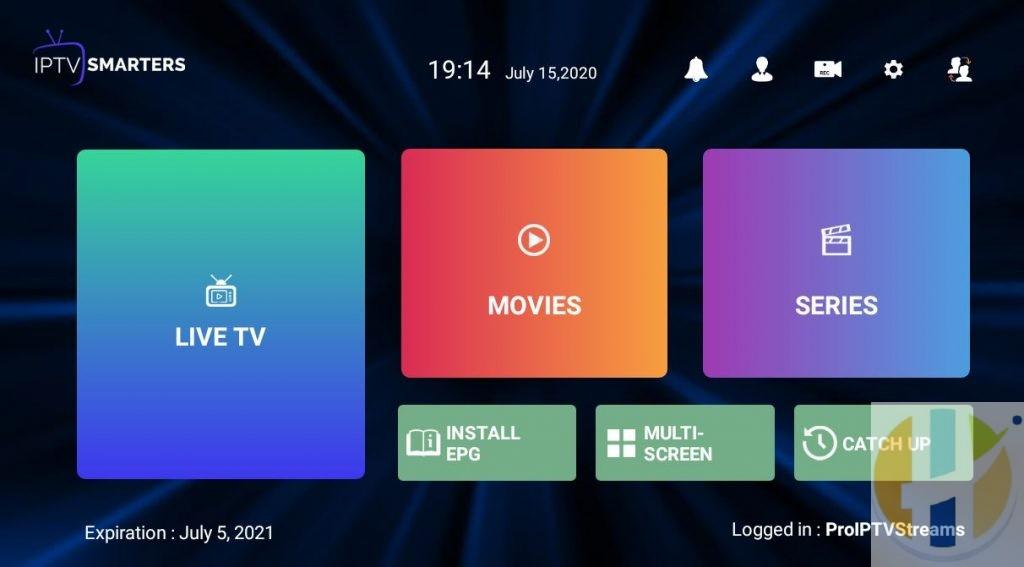 Pro IPTV Streams IPTV Smarters Pro