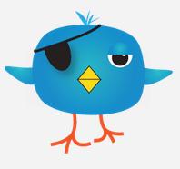Twitter Pirate