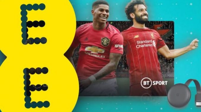 EE customers offered cut-priced BT Sport and free way to watch it on their TV