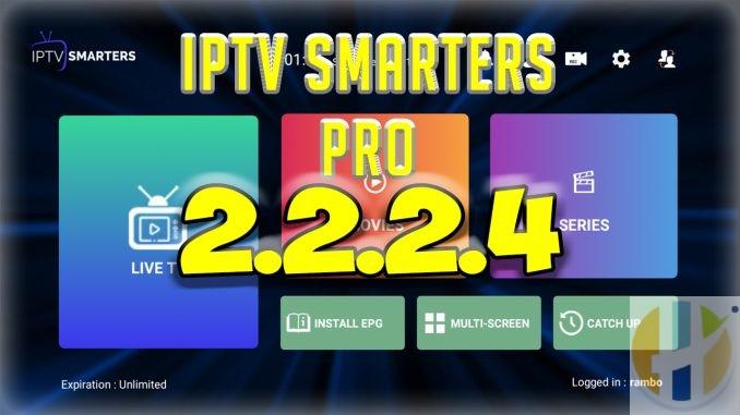 iptv smarters pro 2.2.2.4
