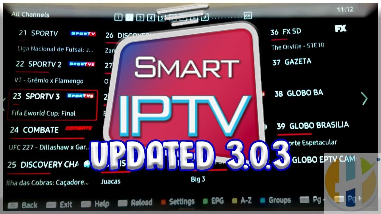 SMART IPTV Updated app version 3.0.3 for LG TVs - Husham