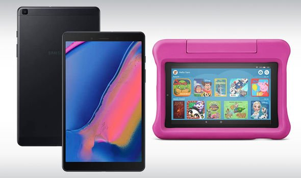 Samsung Galaxy Tab A8, Fire 7 Kids Edition Tablet