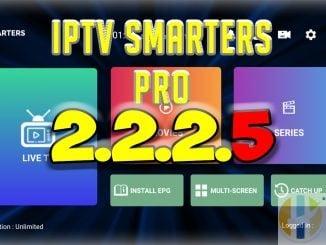 iptv smarters pro 2.2.2.5