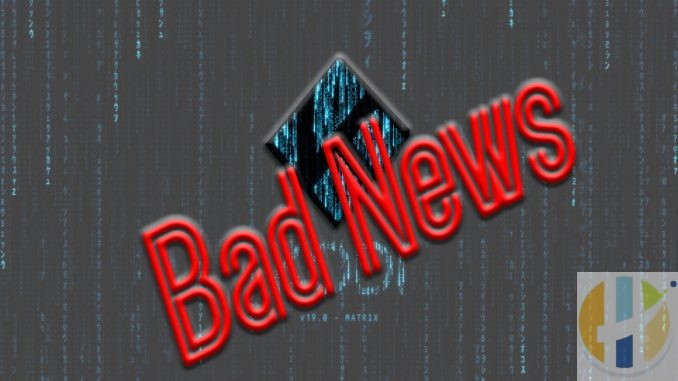 kodi 19 bad news