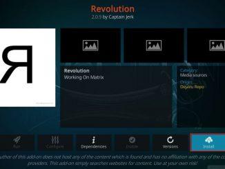 how to install revolution kodi addon