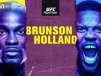 How to Watch UFC Fight Night: Brunson vs. Holland Online – Fight Card, Start Time, Odds, Live Stream