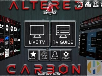 alter carbon tv service