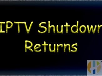 iptv shutdown returns