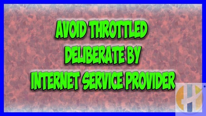 Avoid Throttled