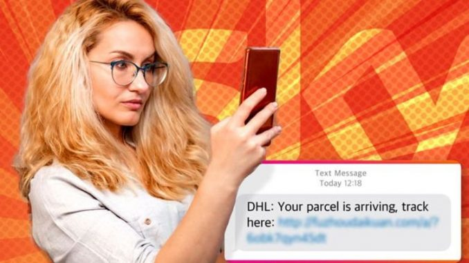 Do NOT open this text! Sky warns all customers to delete DHL messages