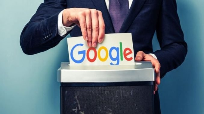 You can now delete the last 15 minutes of Google search history