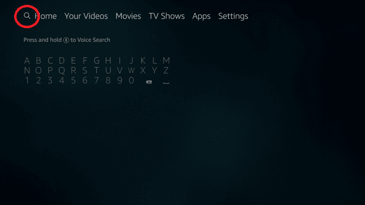 search icon - How to Install Outlaw IPTV on Firestick