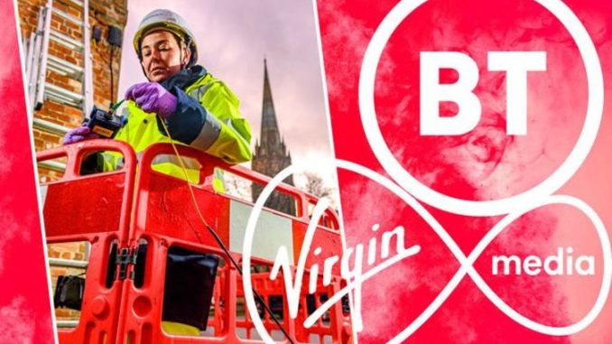 BT broadband users might have to thank Virgin Media for speed boost