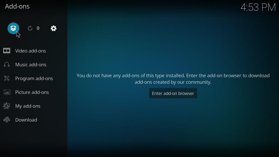 click installer icon