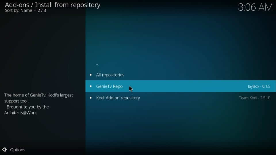 genie tv repo - Install Equinox Kodi Build