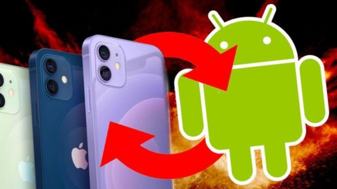 A new Android app might tempt iPhone users to switch