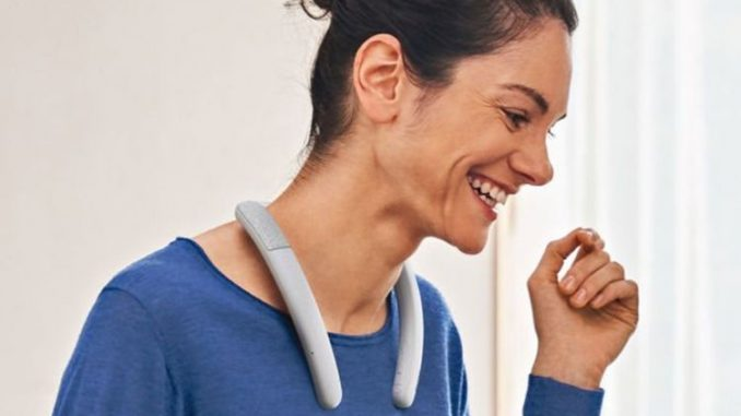 Forget headphones! Sony just announced a new speaker that you WEAR