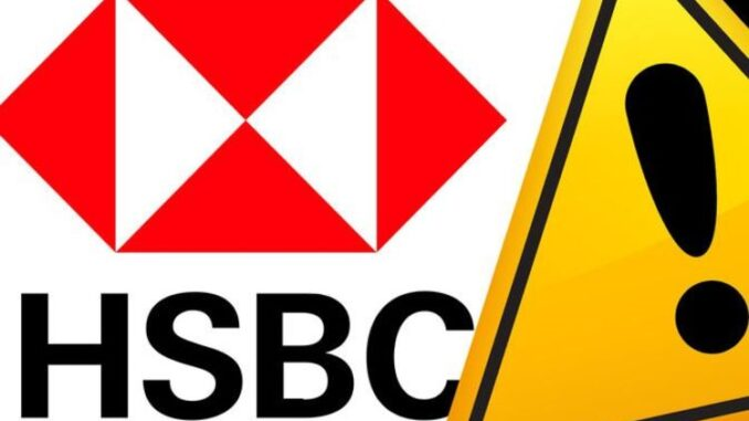 HSBC DOWN: Thousand complain of banking app and website not working