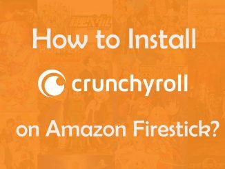 Crunchyroll on AmazoN Firestick