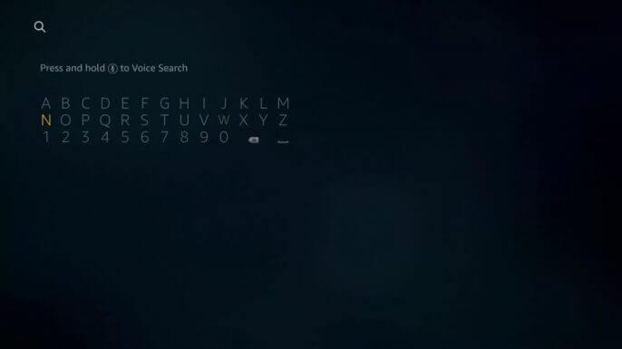 search SYFY on Firestick