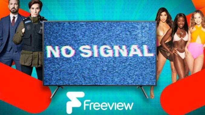 Freeview shares update with thousands left without access to TV