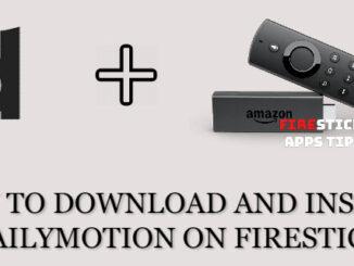 Dailymotion Firestick