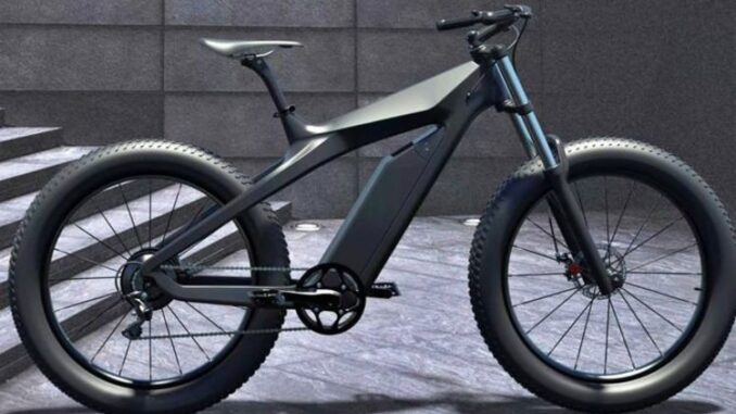 Airover is a futuristic new electric bike that looks like it's designed by Tesla