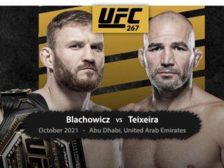 Blachowicz vs Teixeira on Firestick