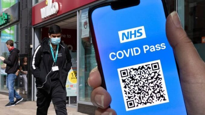 Covid pass unexpected error - is the NHS app down?