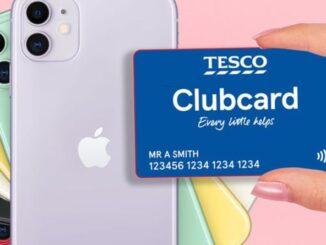 Tesco Clubcard members get money off iPhone or Samsung smartphones