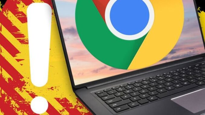 Update Chrome now! Google issues new worrying alert you must not ignore